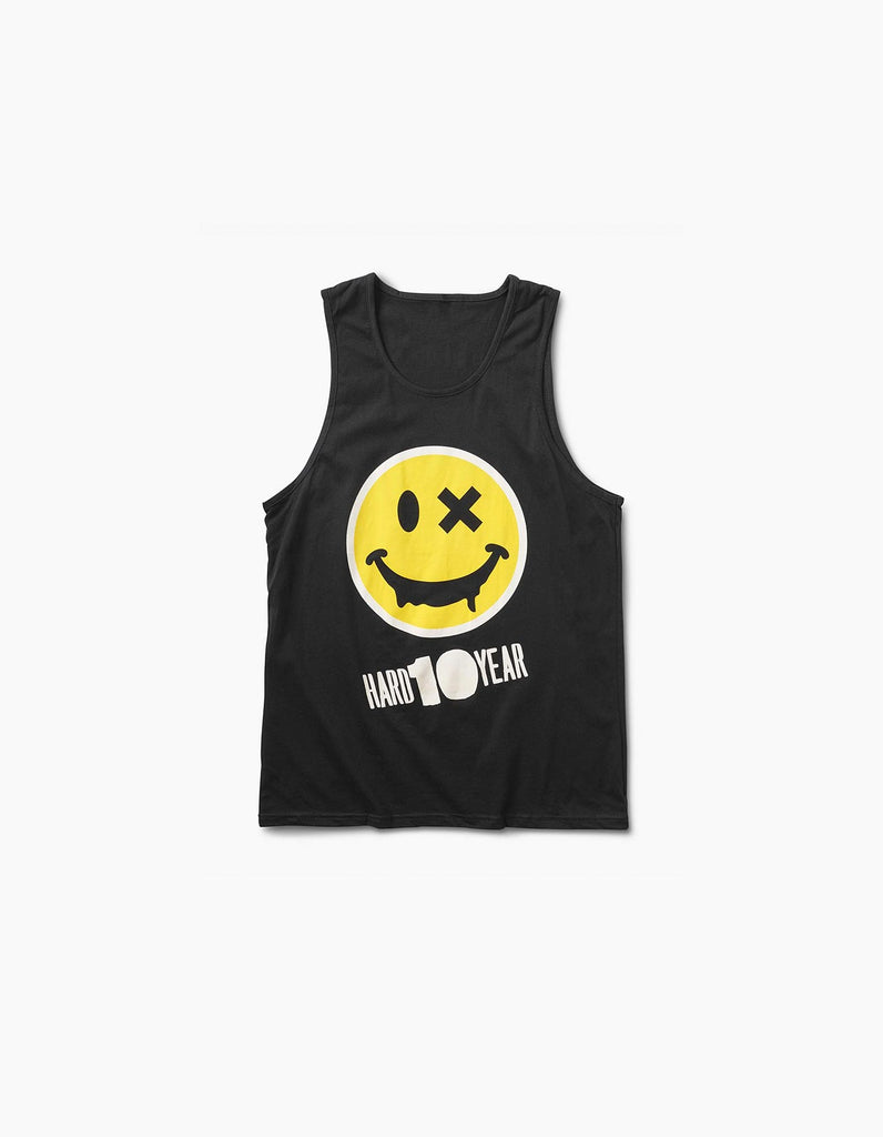 Hard Summer 2016-HSMF 10 Year Smiley Tank