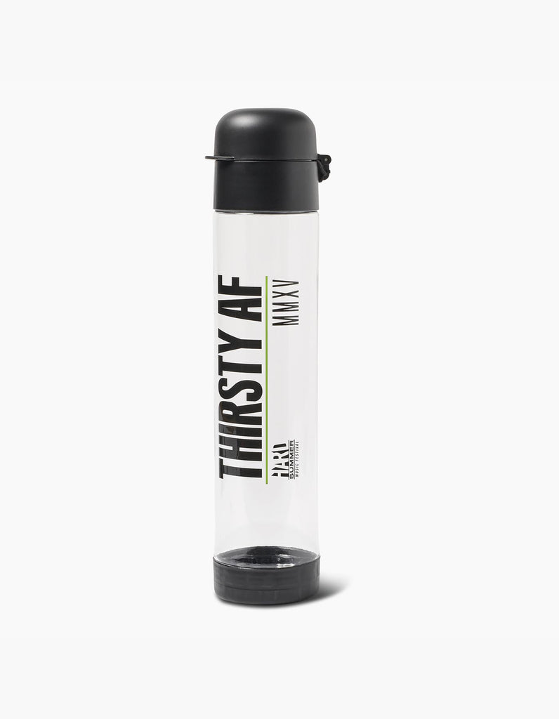 HSMF Thirsty AF Waterbottle Black