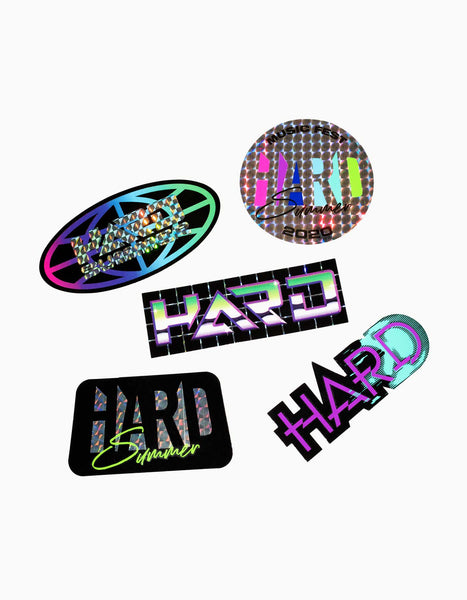 HARD 2020 Sticker Pack