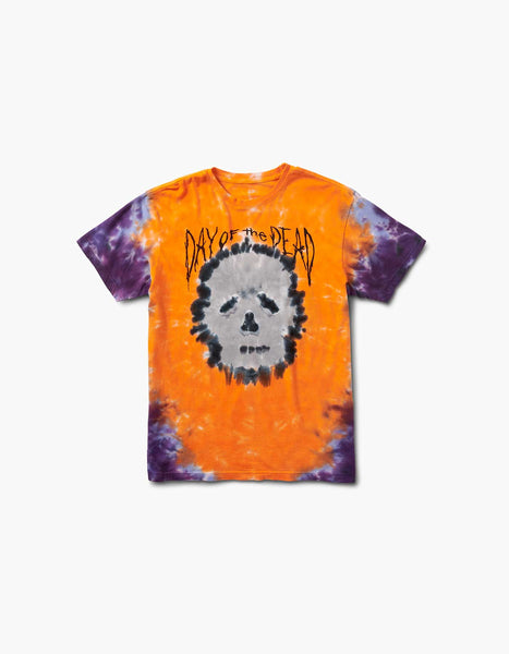 HARD DOTD Skull Tie Dye 2018 Line Up Tee