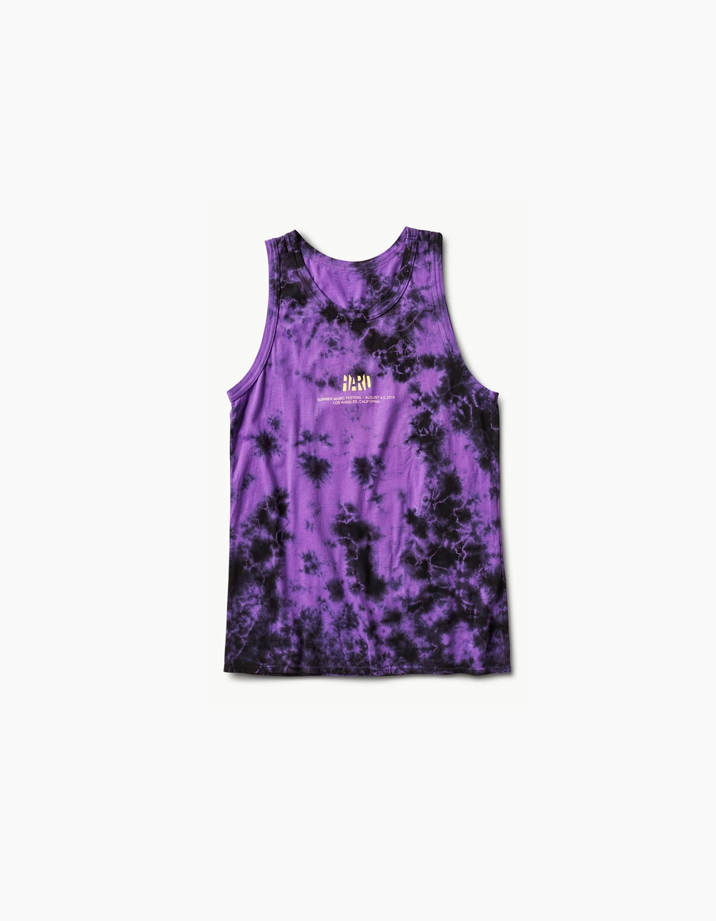HARD - Summer Lil Type Tie Dye Tank