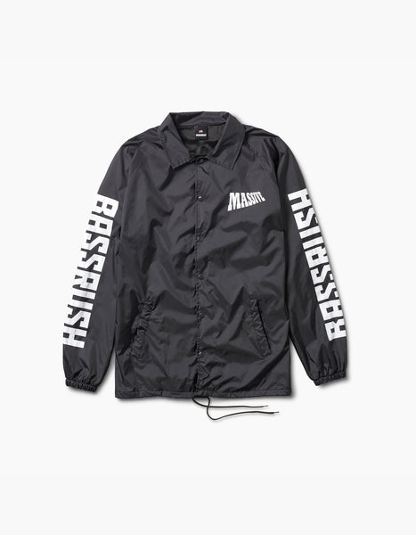 Bassrush-2017 Security Coaches Jacket Black