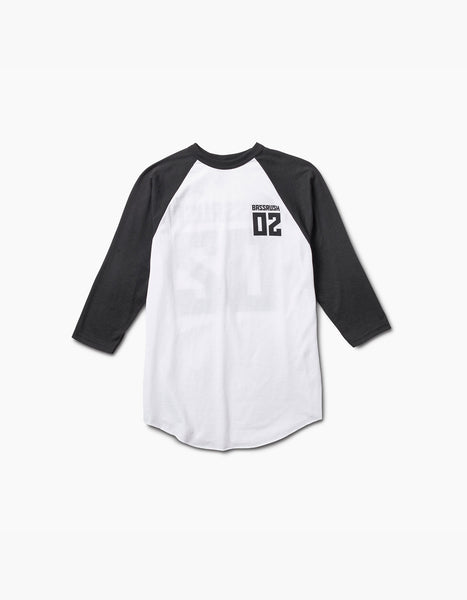 Bassrush-2017 Inception Raglan Tee White