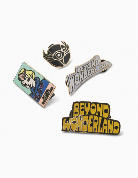 Beyond Wonderland Pin Set Queens