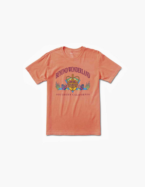Beyond Wonderland Tourist Tee Neon