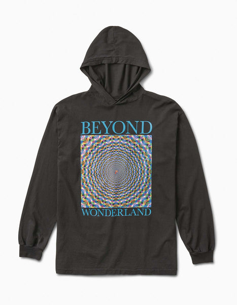 Beyond Wonderland Tripper Hood Tee Black