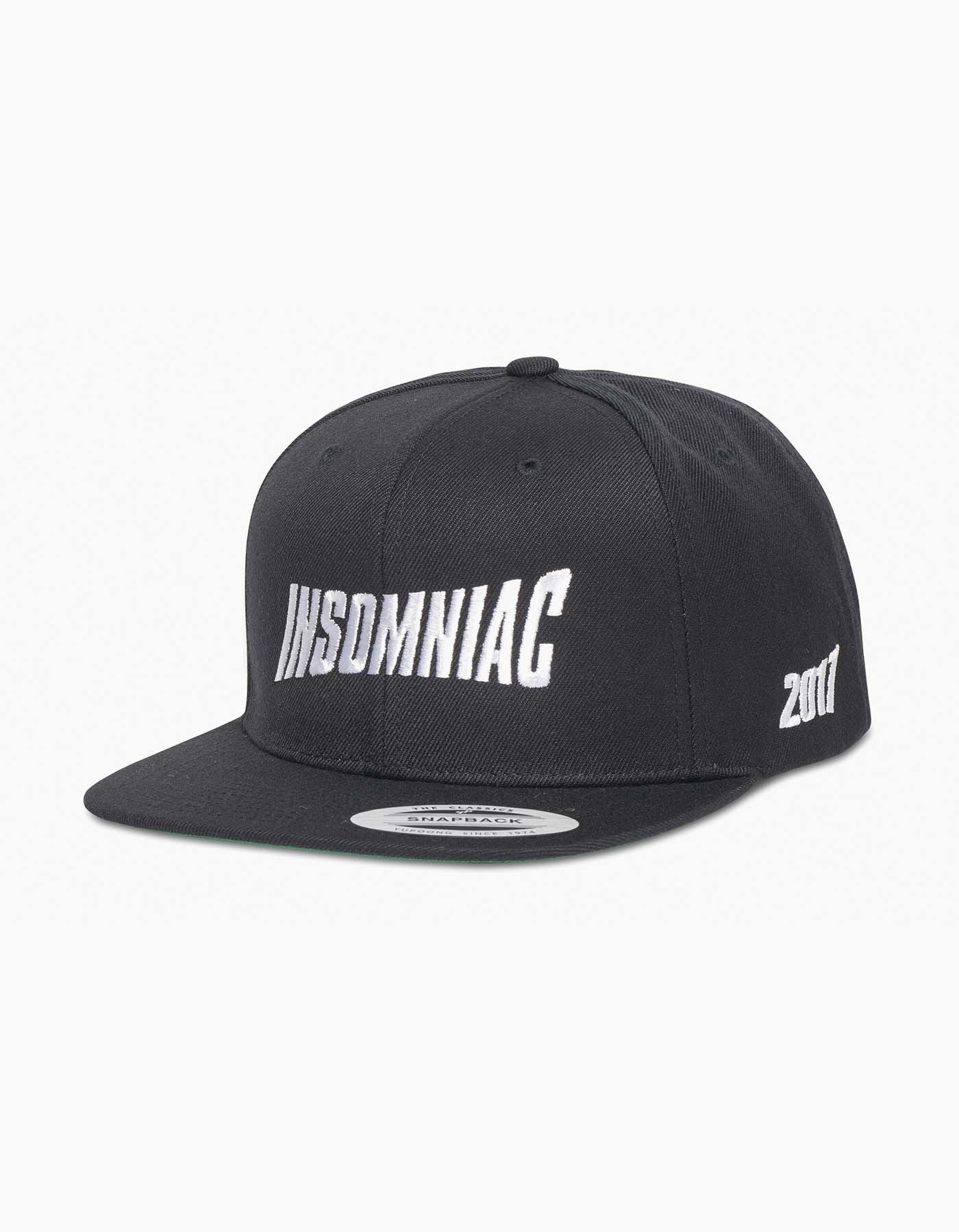 Insomniac-2017 Flash Cap Black