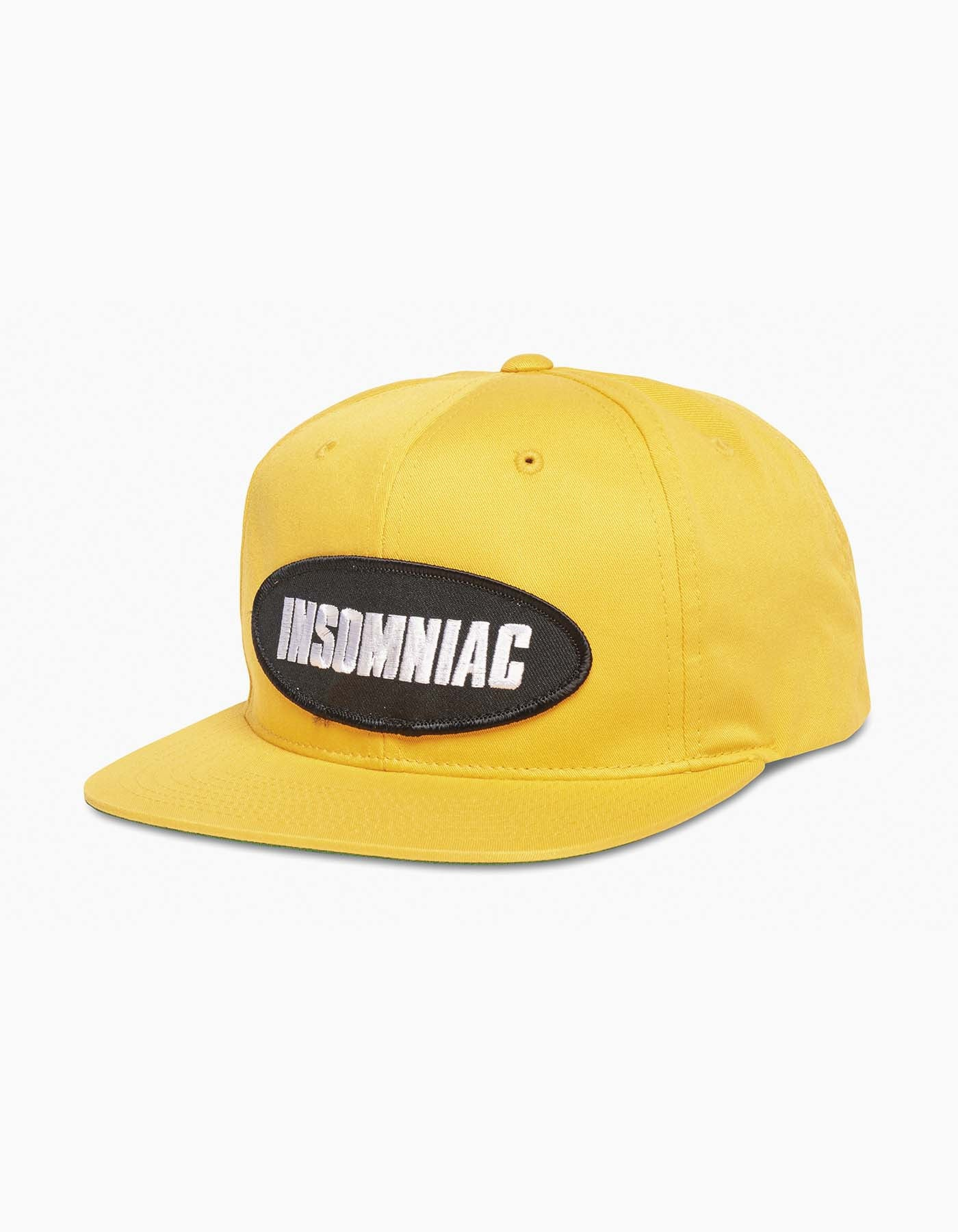Insomniac-2017 Oval Patch Cap Yellow