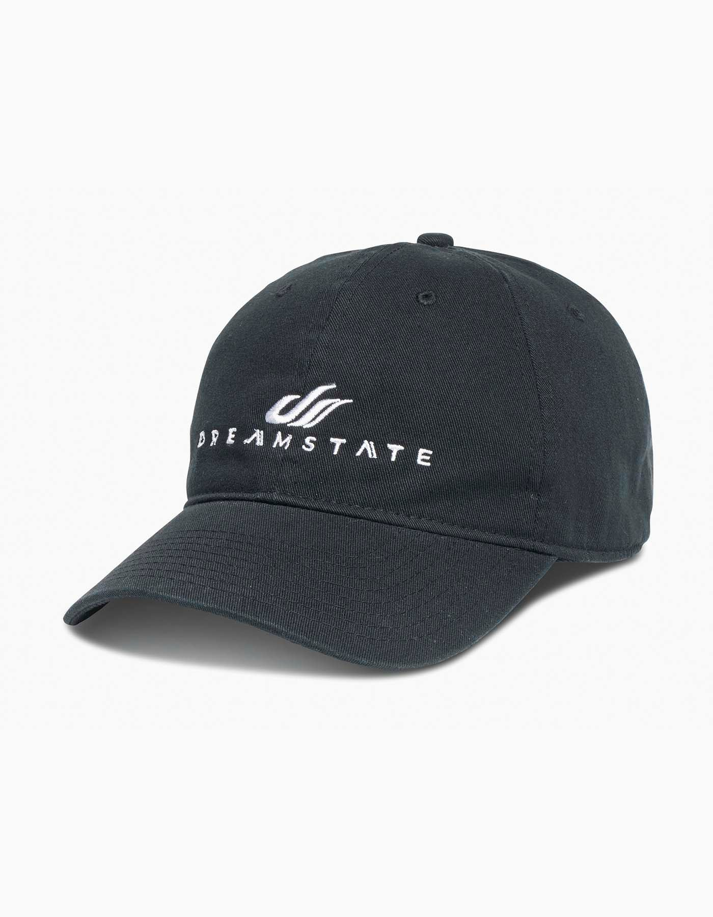 Dreamstate Dad Hat Black
