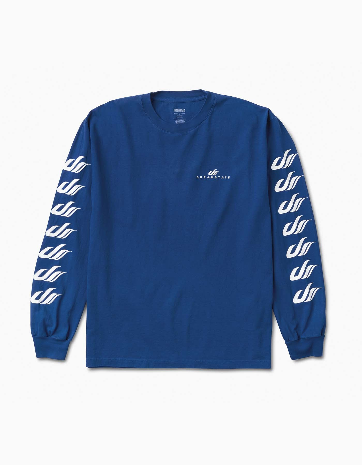 Dreamstate Sleevers Long Sleeve Tee Blue