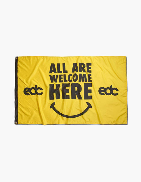 EDC All Are Welcome Here Flag
