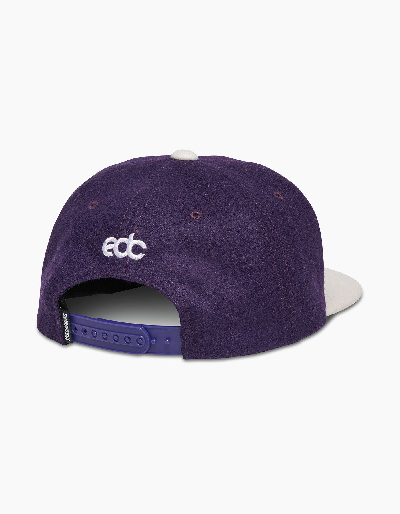 EDC Rainbow Chenille Cap Purple