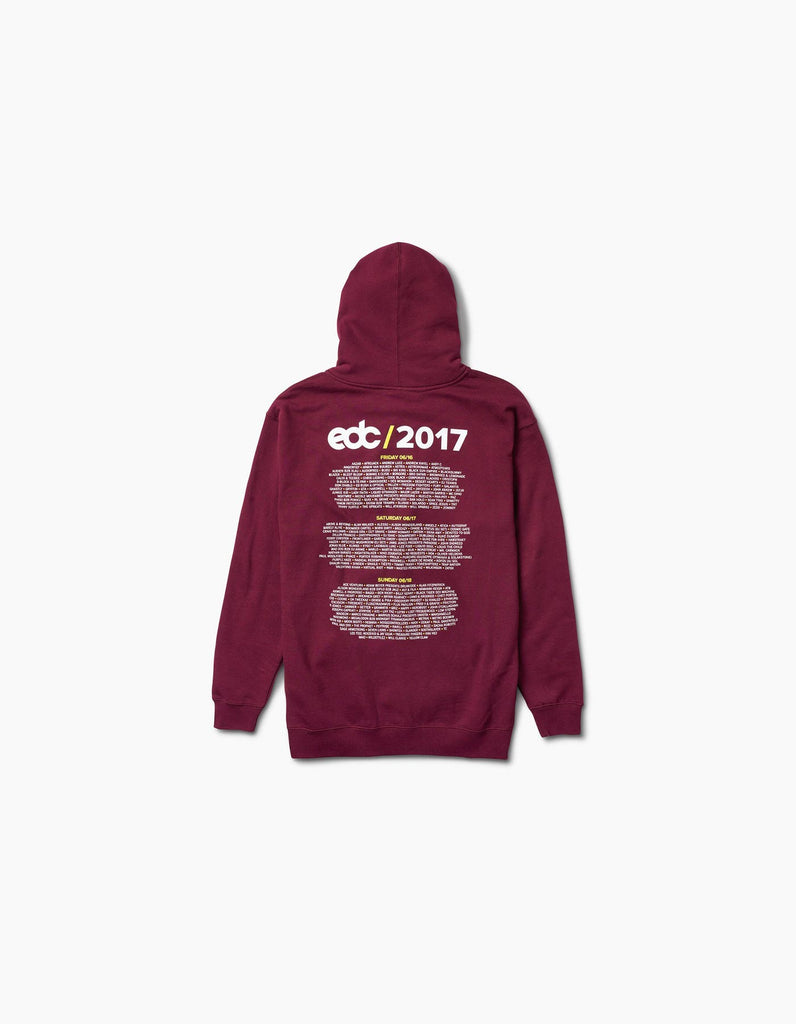 EDC Vegas -2017 New Daisy Line Up Zip Hood