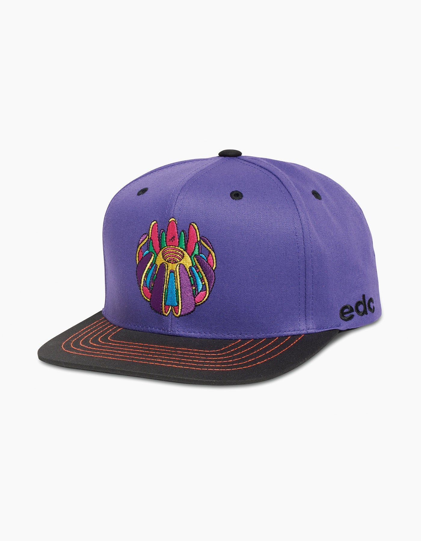 EDC Future Flower Cap Purple