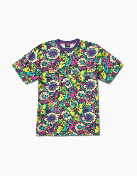 EDC Garden T-Shirt Purple