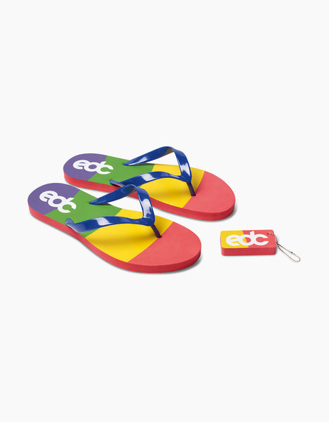 EDC Rainbow Sandal Set