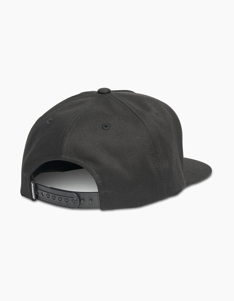 EDC Smiley Patch Cap Black