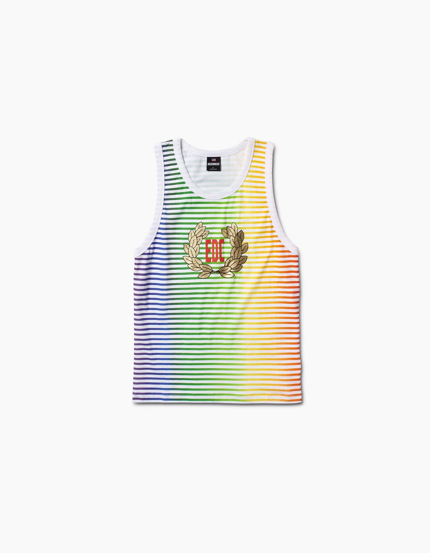 EDC Gold Wreath RainbowTank