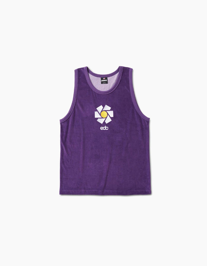 EDC New Daisy Velour Tank