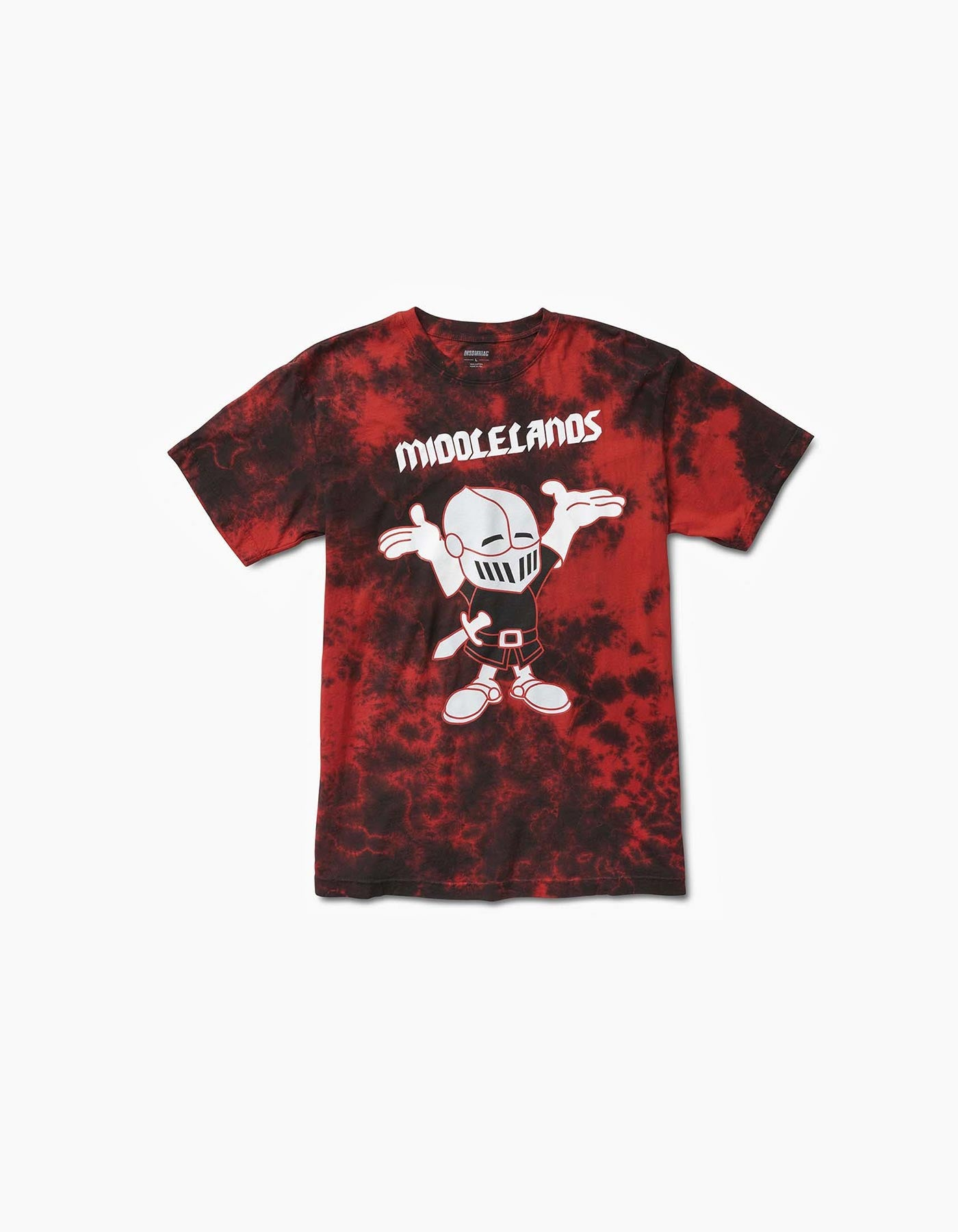 Tourguide Tee Red Tie Dye