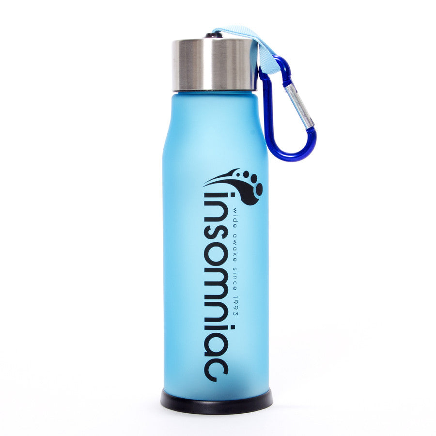 M  Insomniac Blue LED Water Bottle