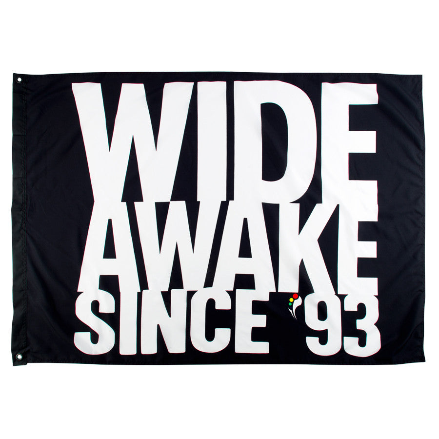 K  Insomniac Wide Awake Flag
