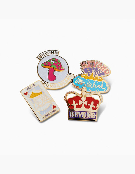 Beyond Wonderland  Pin Set Kings
