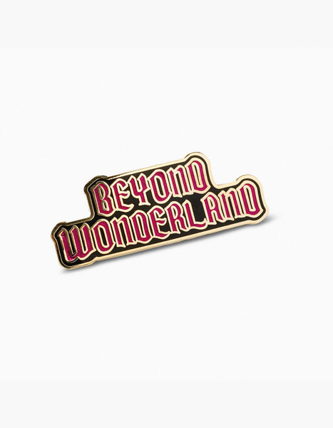 Beyond Wonderland Logo Pin
