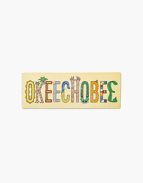 Okeechobee Jungle Cooling Towel