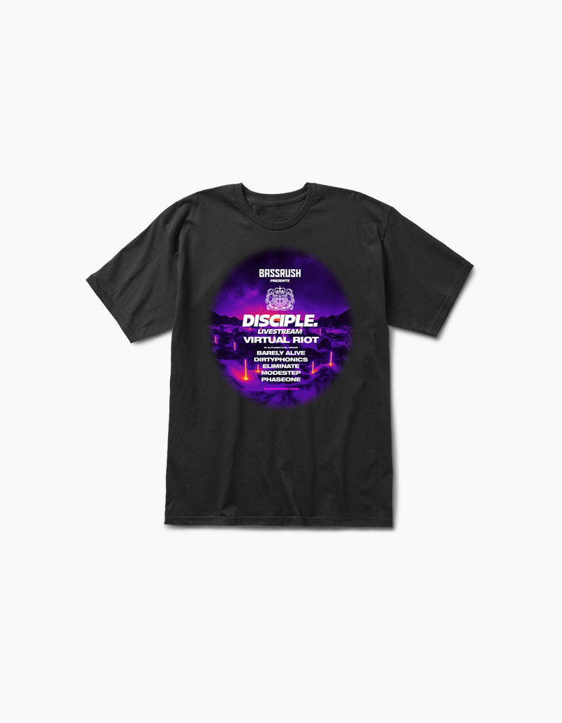 Virtual Bassrush Disciple S/S Tee