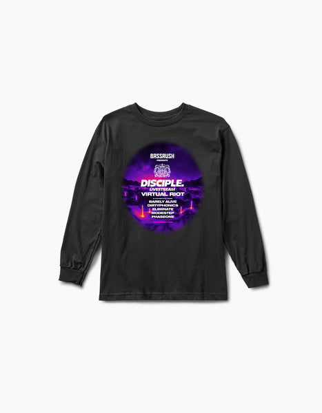 Virtual Bassrush Disciple L/S Tee