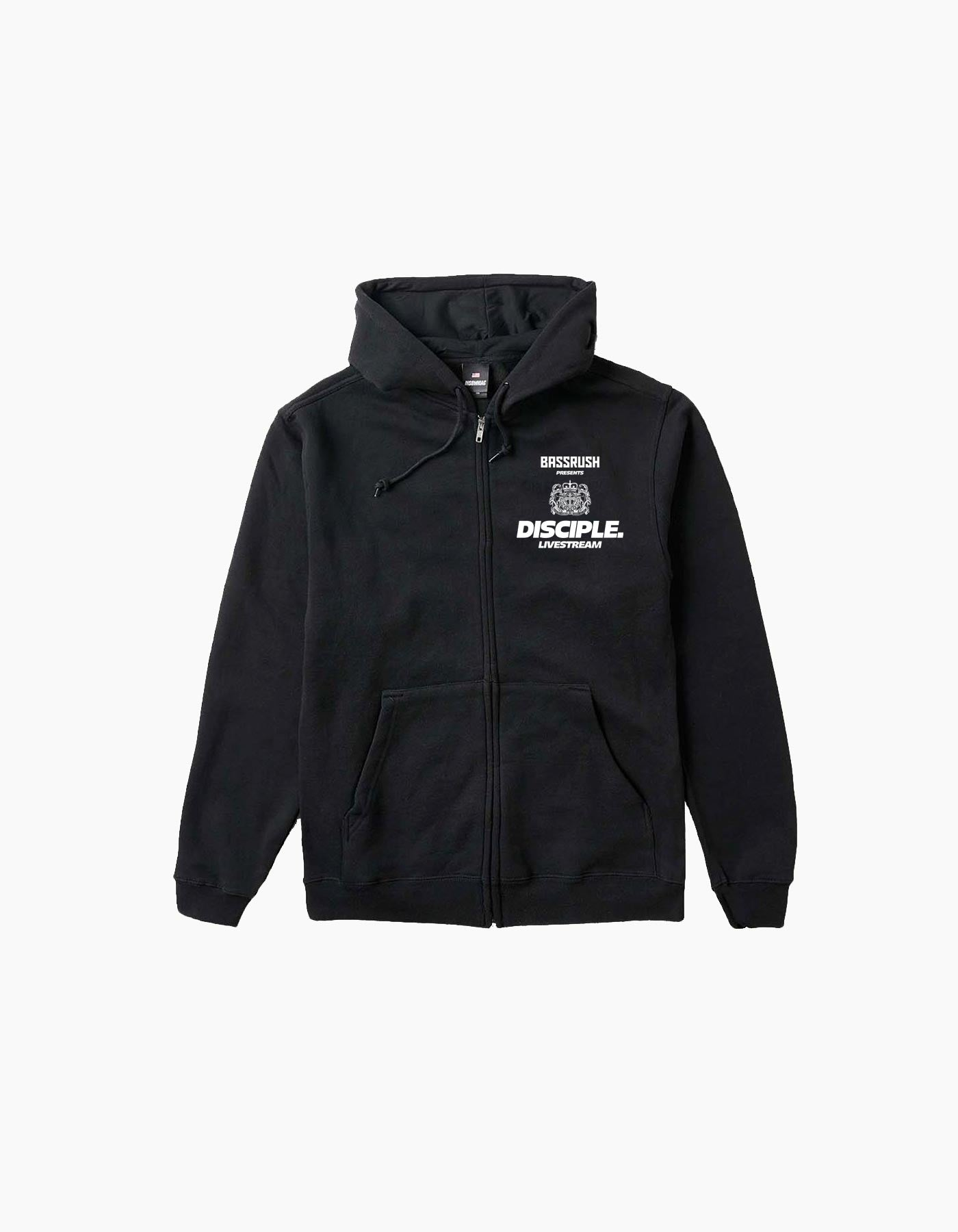Virtual Bassrush Disciple Zip Up Hoodie