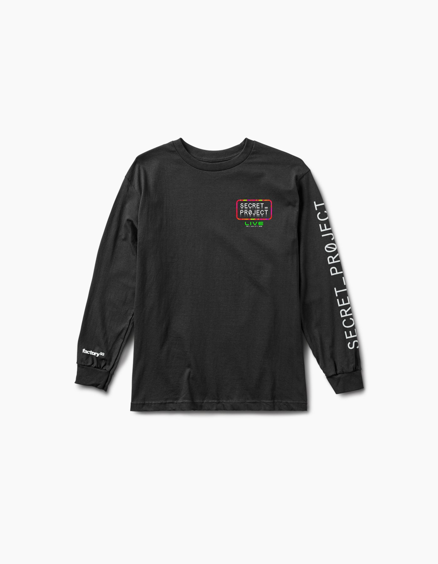 Virtual Secret Project Live L/S Tee