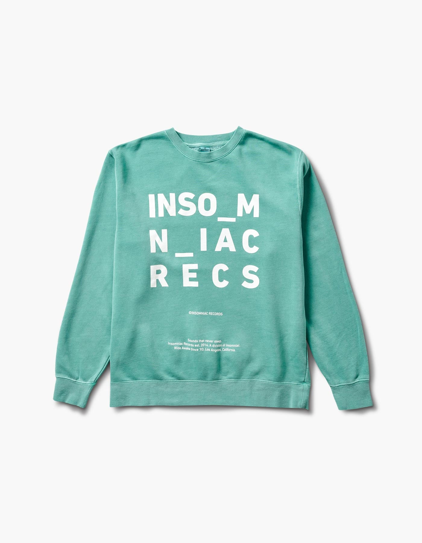 Spaced Out Crewneck Mint