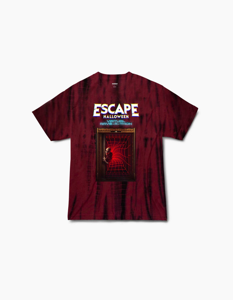 Virtual Escape 2020 Line Up Tie Dye S/S Tee
