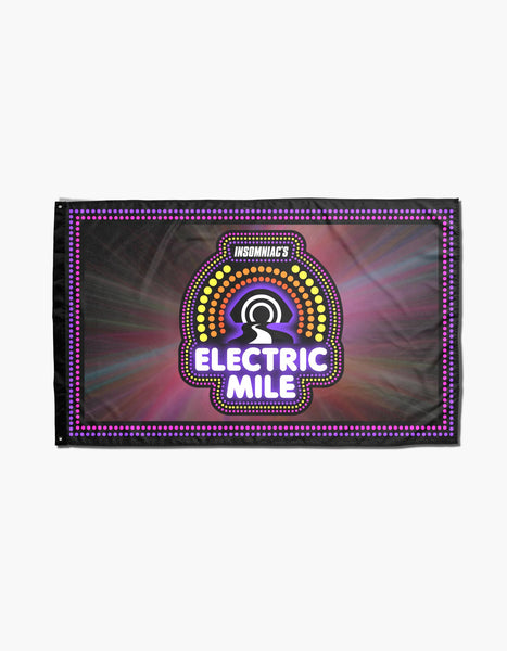 Electric Mile Glow Flag