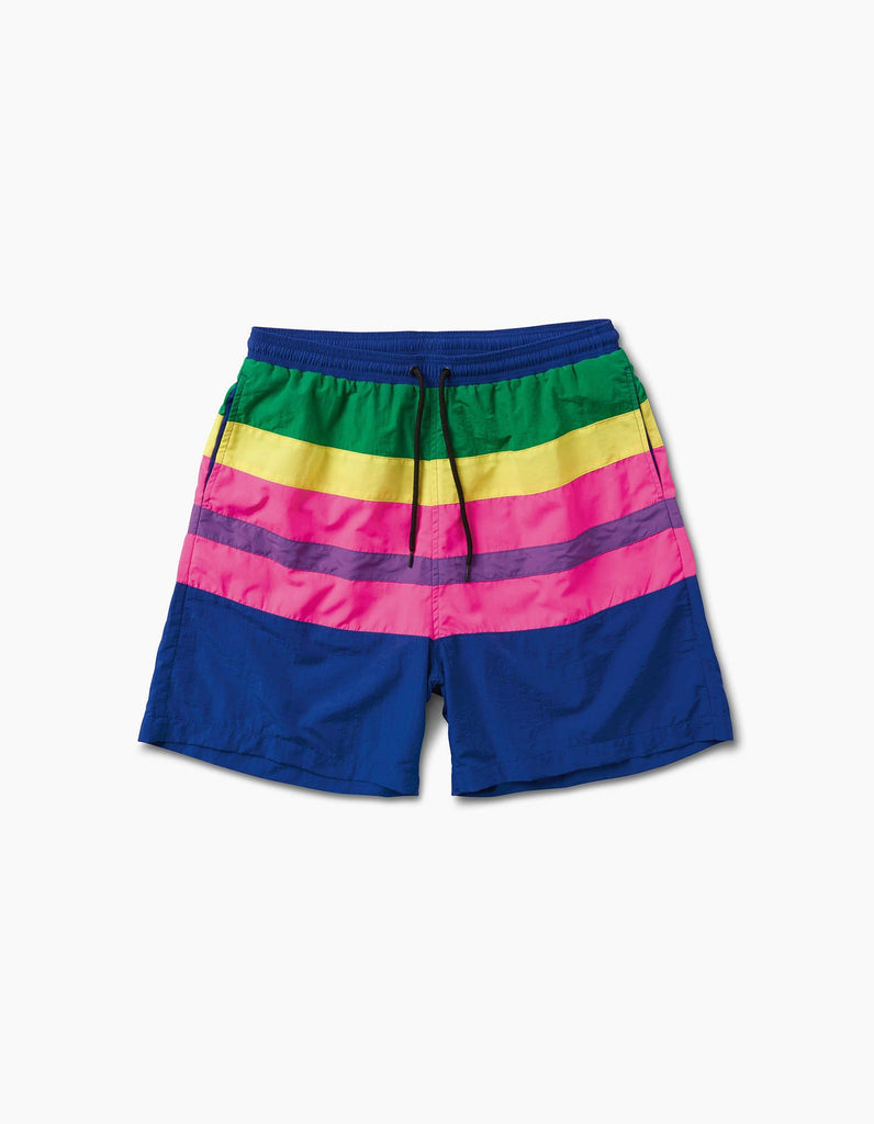 EDC Rainbow Stripe Short