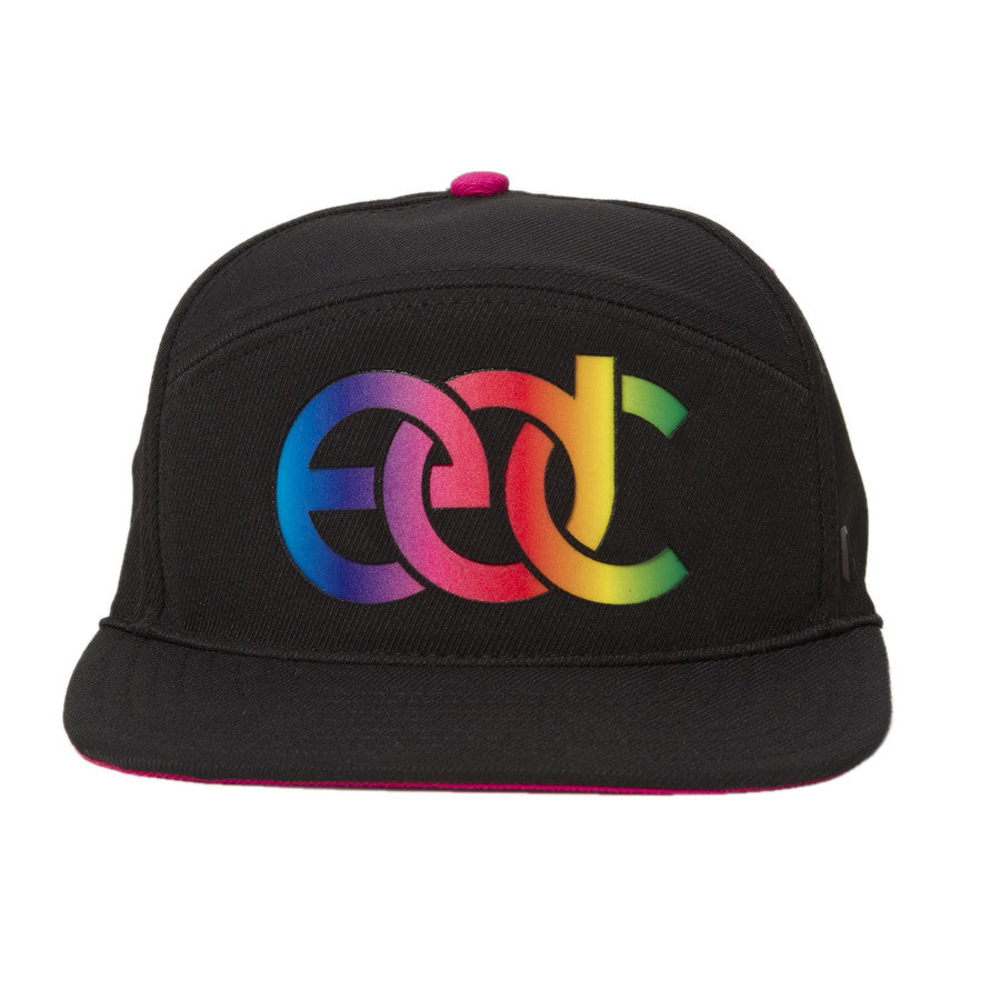 A  EDC Rainbow Light Up Lumativ Hat