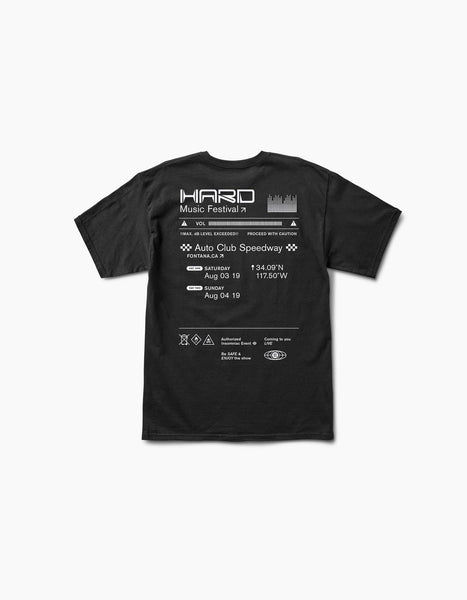 HARD Summer 2019 Maximum Decibels Tee