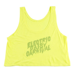 EDC Electric Bolt Crop Top