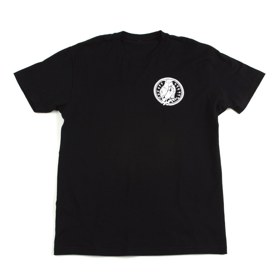 Night Owl Radio Tee Black