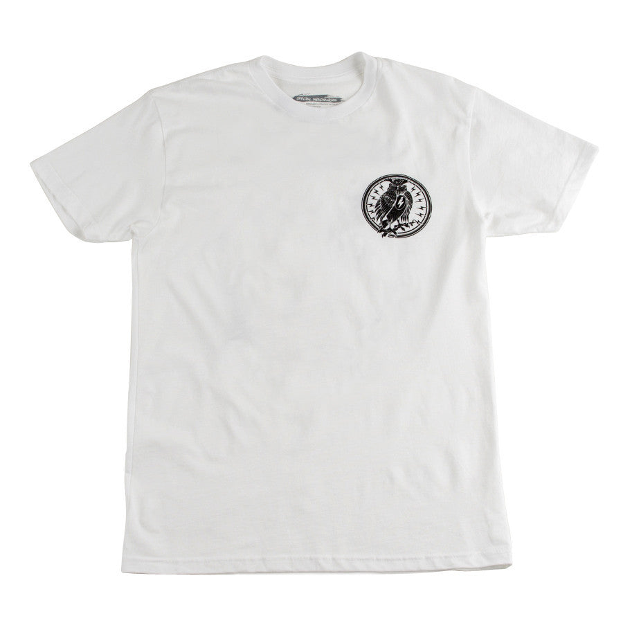 D  Night Owl Radio Tee White