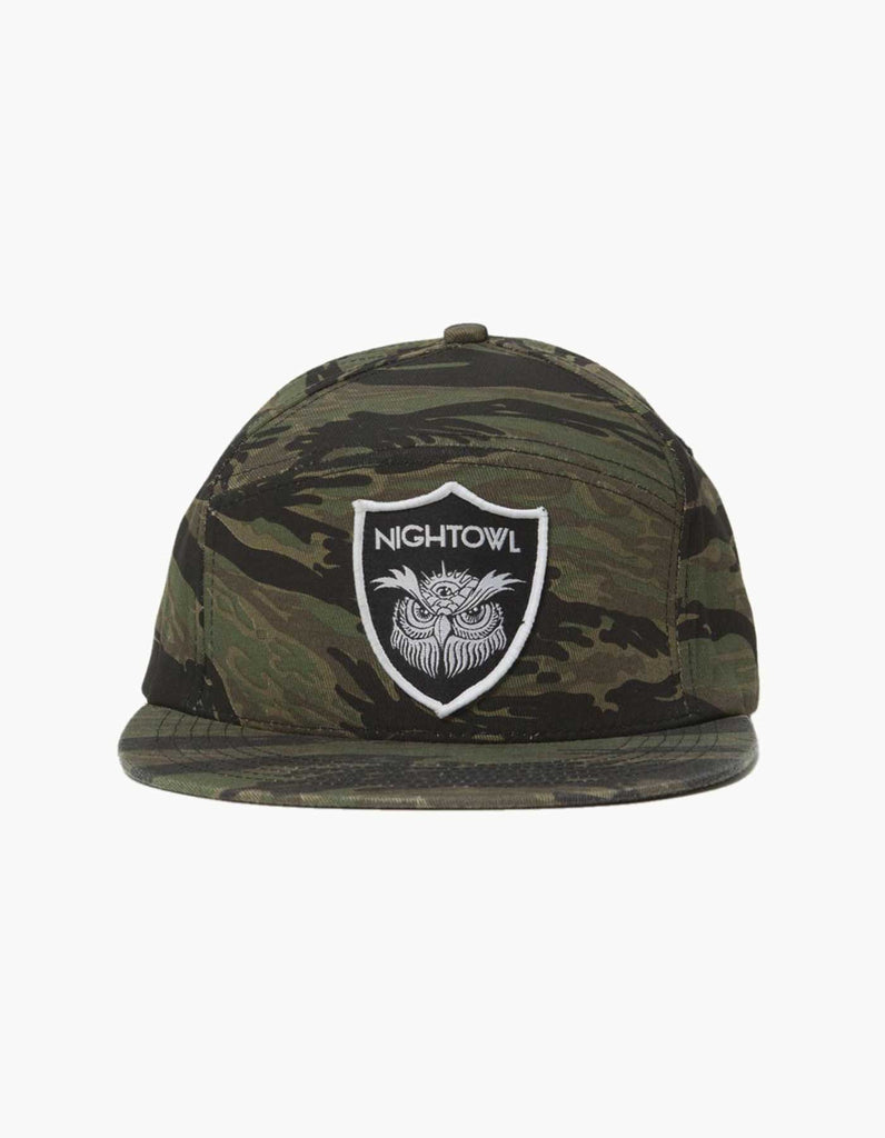 A  Night Owl Shield Camo Hat