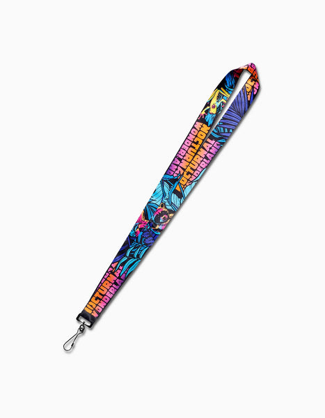 Nocturnal 2019 After Dark Lanyard