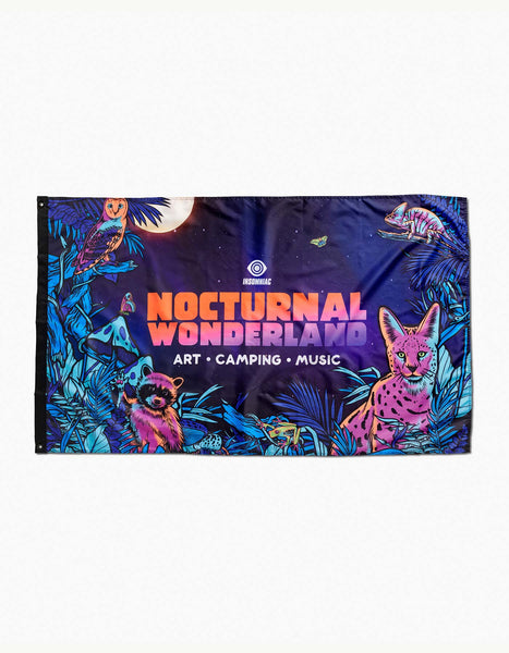Nocturnal 2019 Full Moon Flag