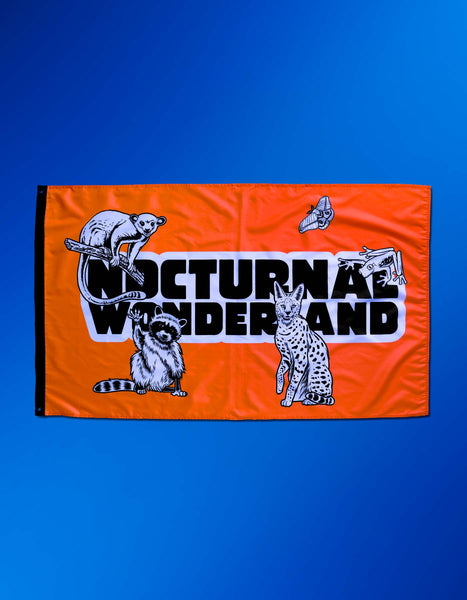 Nocturnal Glow Flag