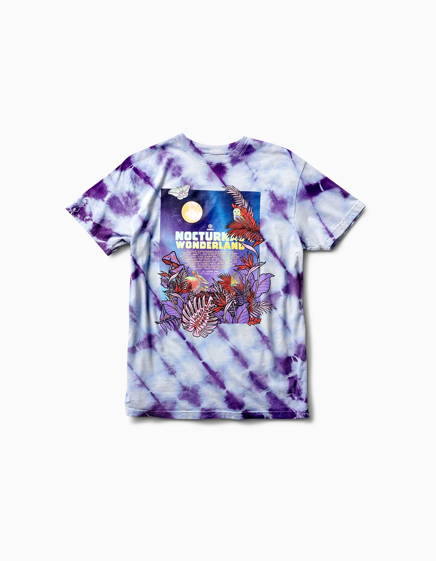 Nocturnal 2019 Wonderland Line Up Tee