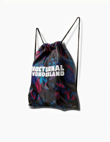Nocturnal Wonderland - Magic Forest Cinch Bag