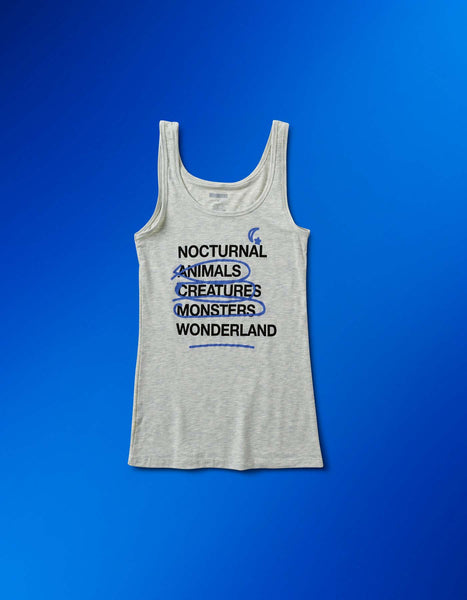 Nocturnal Wonderland - Women's List Tank