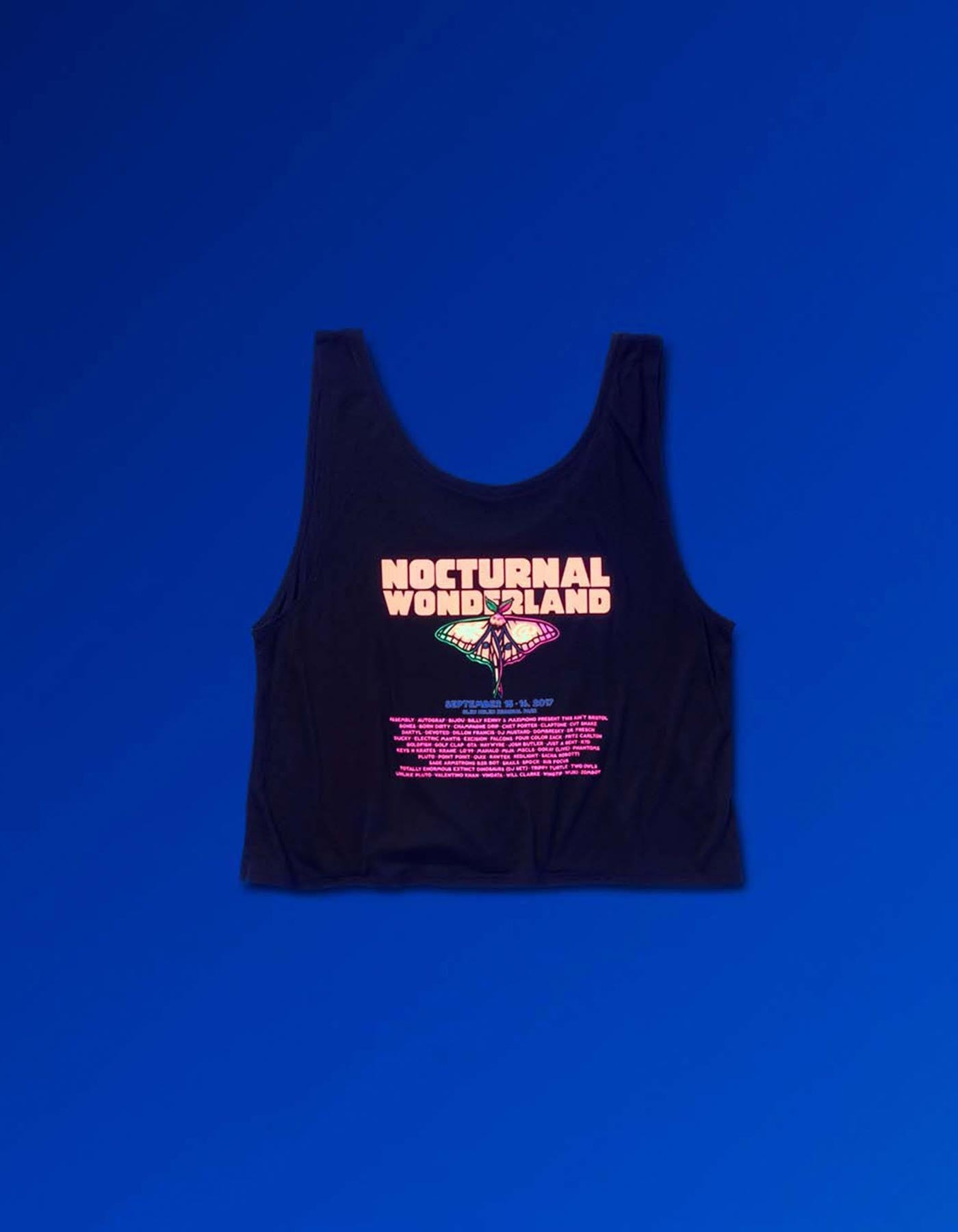 Nocturnal-2017 Moon Moth Womens Line Up Tank